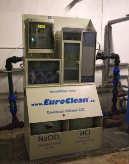 Dezinfekce vody chlordioxidem