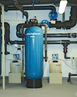 Změkčení vody a dávkování chemií
