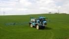 Hnojení pole dusičnany