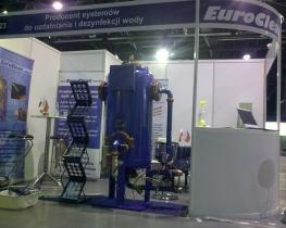 Vystavená elektrolytická úpravna vody EuroClean KEUV