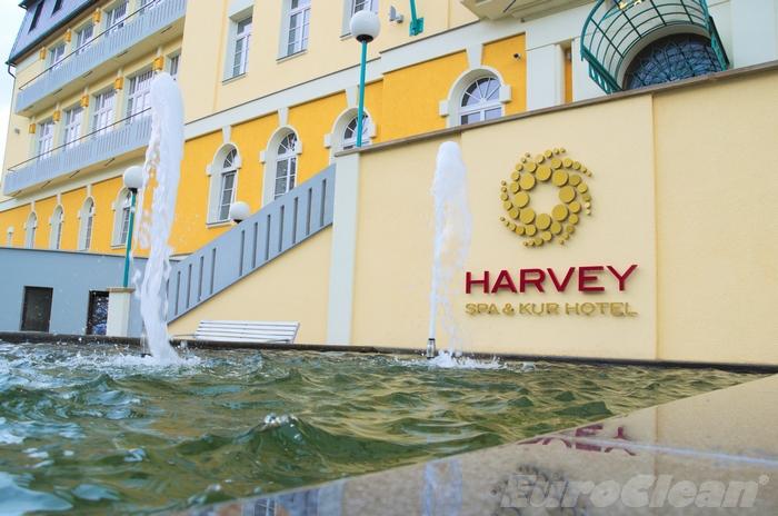 Fontána hotelu Harvey