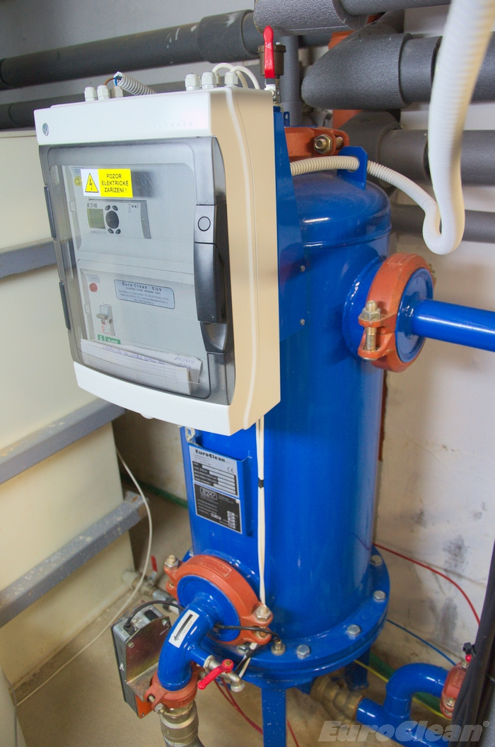Úpravna KEUV-TV pro odstranění železité vody