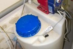 Dávkování dezinfekce pro odstranění bakterií