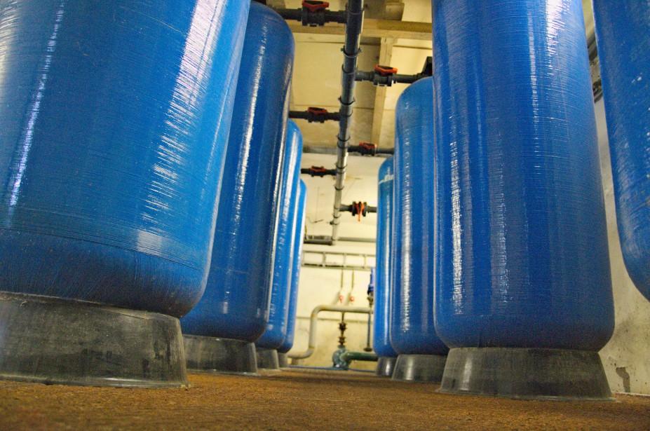 Pískové filtry pro odstranění hrubých nečistot z vody