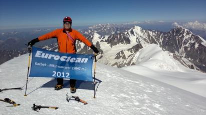 EuroClean na Kazbeku 5047n.m.