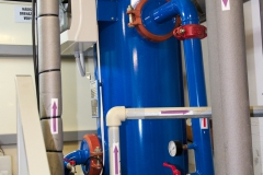 Elektrolytická úpravna KEUV MINI v spa hotelu Harvey pro odstranění koroze z vody