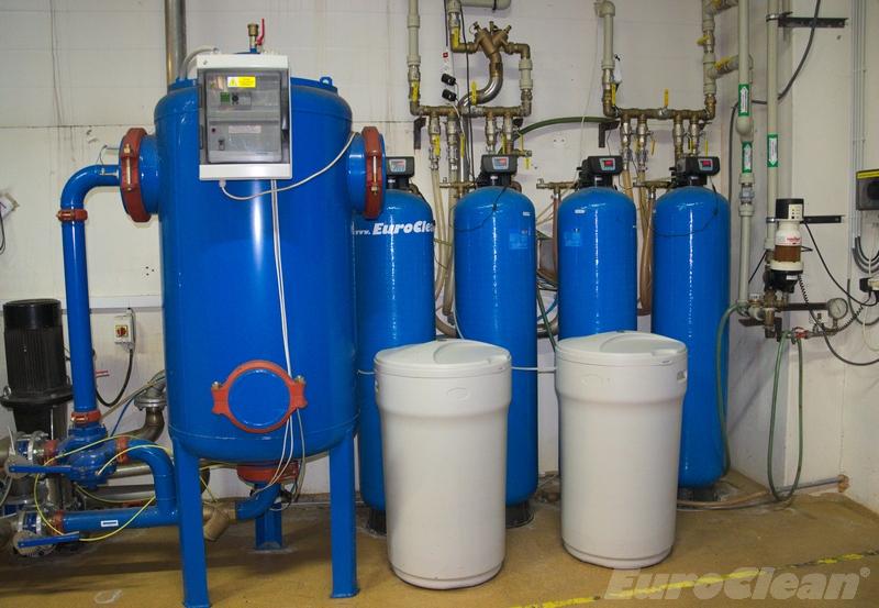 Elektrolytická úpravna KEUV-TV a změkčovače vody AquaSoftener