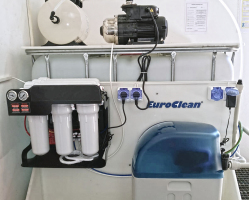 Reverzní osmóza EUROCLEAN SOLID společně se změkčovačem vody AquaSoftener