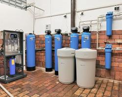 Reverzní osmóza EUROCLEAN + změkčovače vody AquaSoftener