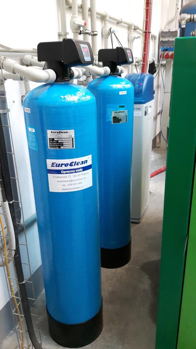 Úpravny vody EuroClean pro filtraci a změkčení vody