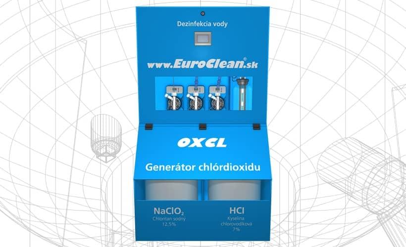 Generátor chlordioxidu EuroClean OXCL